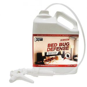 Exterminators Choice Bed Bug Defense All Natural Kills & Repels BedBugs. Non-toxic spray in 1 gallon pack