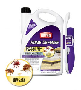 Ortho 0202510 Home Defense Max Bed Bug, Flea and Tick Killer. Supplied in 0.5 Galon packs (1.89L)