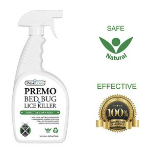 Premo probiotic bed bug spray as an effective proven insect terminator