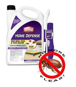 Ortho 0202510 Home Defense Max Bed Bug, Flea and Tick Killer