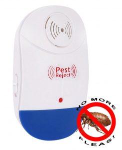 Ultrasonic Electromagnetic Pest Repellent